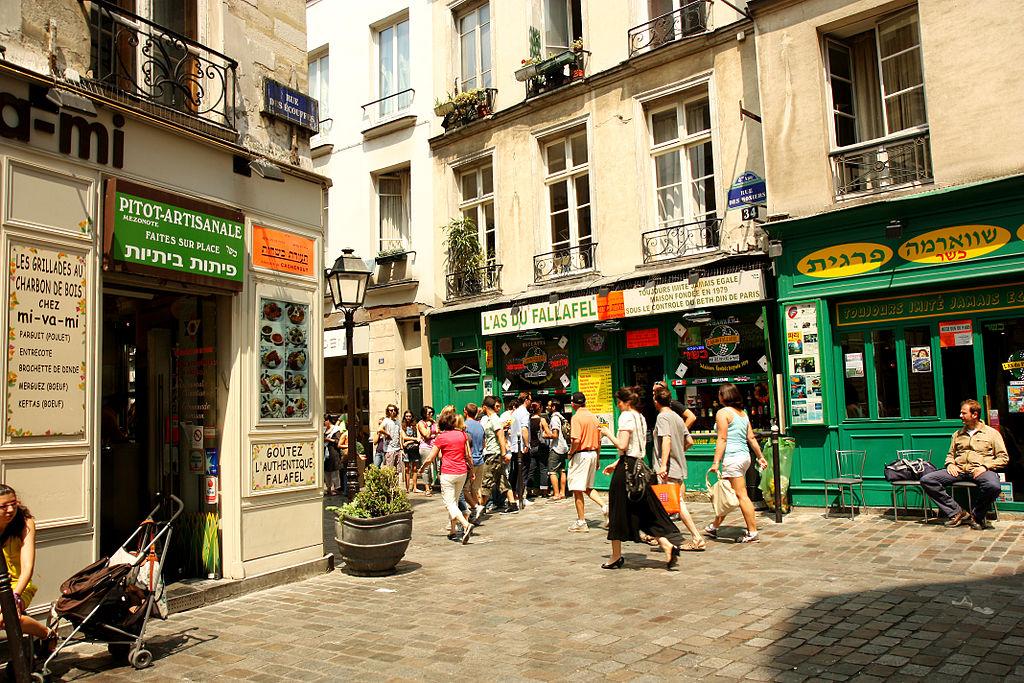 Paris Marais Rue des rosiers By Andrea Schaffer