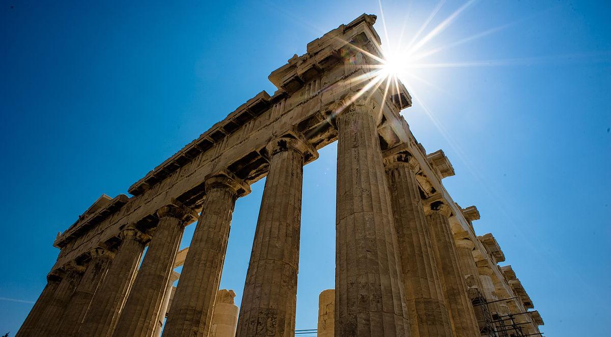 Parthenon Acropolis Athen By Mstyslav Chernov
