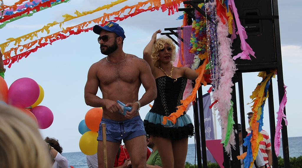 Sitges Gay Pride By Grey Geezer