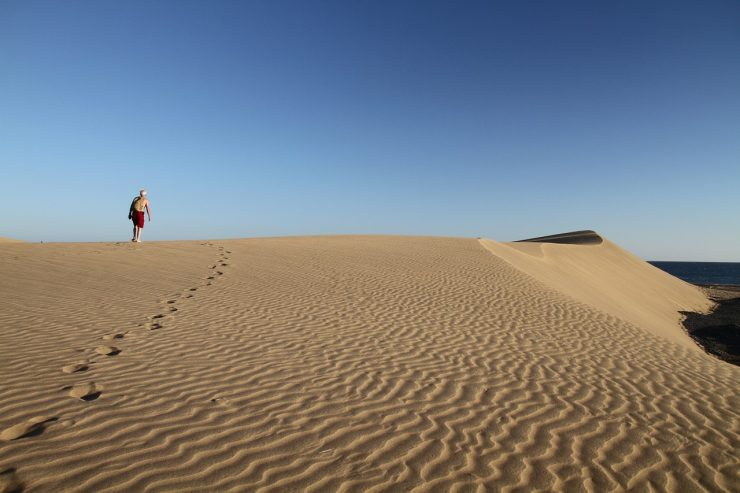 Dünen auf Gran Canaria © MonicaVolpin / Pixabay