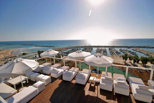 Rooftop Terrace Hotel Tel Aviv