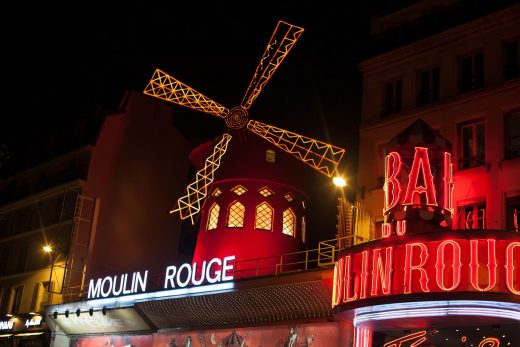Moulin Rouge Paris © nastena94-940 / Pixabay