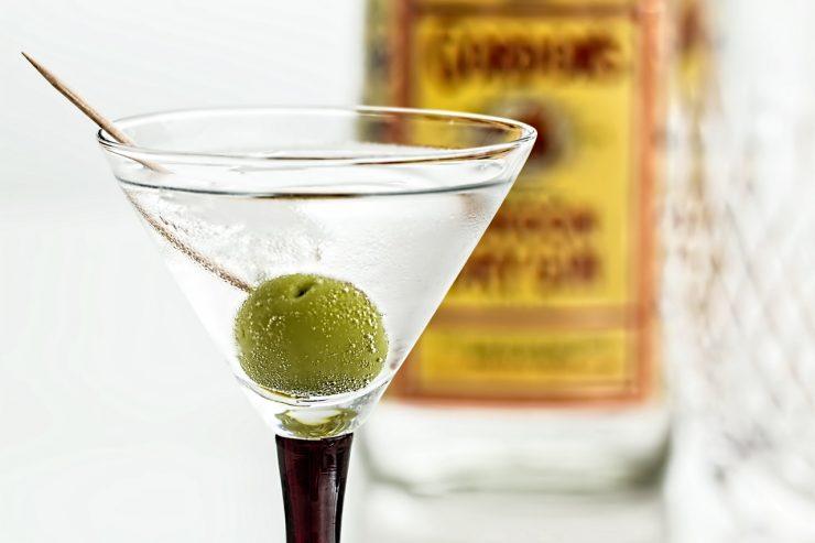 Cocktail Martini Gin Bar